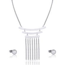 Этнических Кисточкой Ожерелье Китайский Свадебный Костюм Ювелирные Изделия Комплект Тип