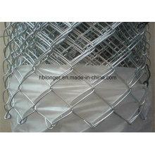 Clôture galvanisée de grillage de maillon de chaîne / grillage de diamant