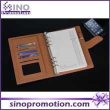 Fashion Cheap Hardcover Spiral Paper Phone Call Notebook