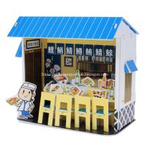 Puzzle 3D Sushi Bar