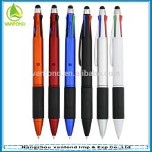 многоцветная перо multi функция шариковая ручка сенсорный стилус и 3 цветных чернил