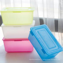 Fabrication de moules en plastique pour boîtes alimentaires