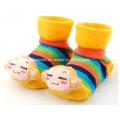 2016 Hot Sale 3D Anti-Slip Fancy Cotton Baby Socks