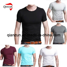 Custom Cotton Men′s T-Shirts (ZJ059)