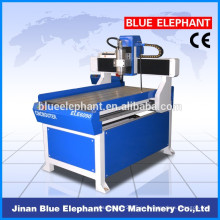 China venta caliente mini máquina de madera del torno del CNC con precio de fábrica