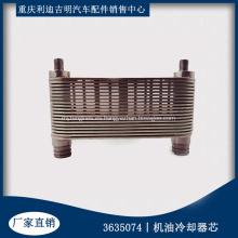 Enfriador de aceite original del generador diesel Core 3635074