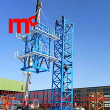Tower crane climbing frame