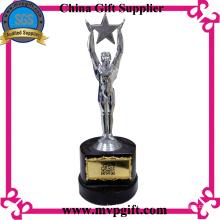 Kunden Metal Trophy mit 3D Gravur