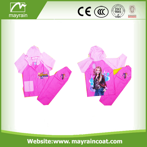 Waterproof PVC Material Rainsuit