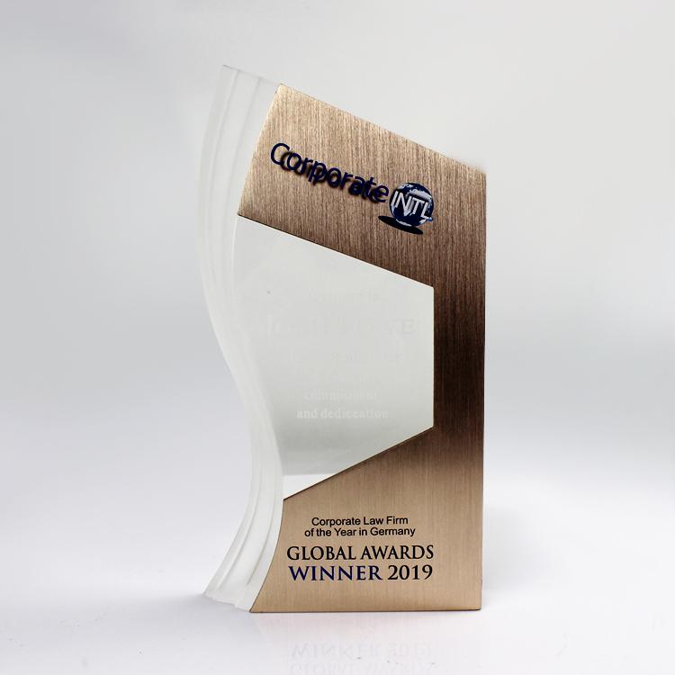 custom acrylic award