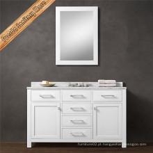 Gabinete de banheiro de madeira sólida sólida em alta qualidade