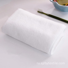 Red big size high gsm microfiber hair towel