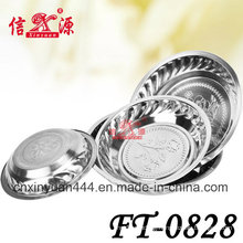 Stainless Steel Deep Flower Tray (FT-0828)
