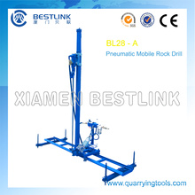 Quarrying Rock Mobile Vertical Line Drilling Machines
