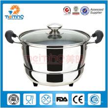 acier inoxydable garder le pot chaud de soupe pour la nourriture chaude
