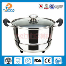 stainless steel keep warm soup pot for hot food