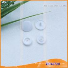 Botón de encaje de plástico para capa de lluvia, ropa de bebé o papelería BP4372