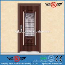 Portas de segurança em aço JK-S9020 com tela de janela