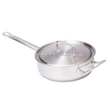 Сковорода из комбинированной стали, тройная, 42 см, вок
