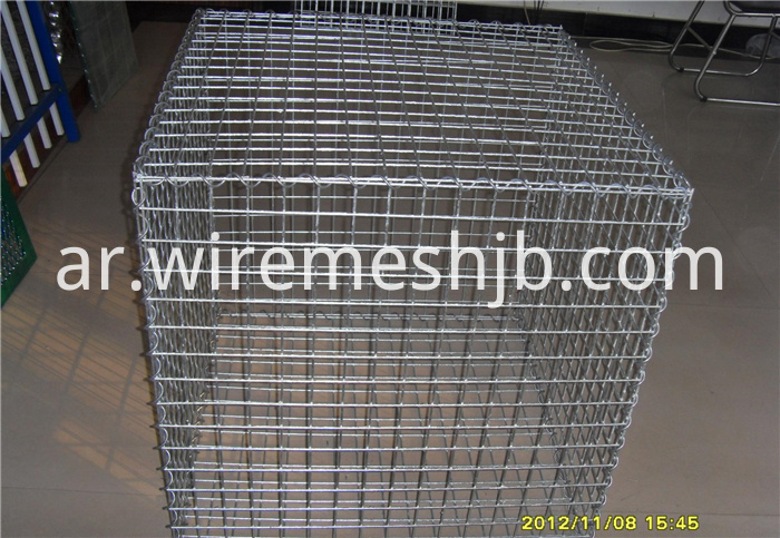 Welding Stone Cages