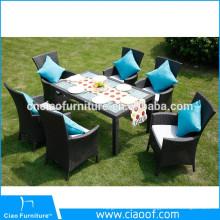 Gran durabilidad Fábrica muebles directamente al aire libre Pakistán