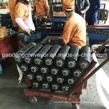 Low-Friction Rubber Impact Conveyor Roller/Impact Roller/Rubber Roller