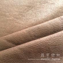 Composto de tecido de couro artificial para decoração