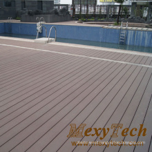 Wooden Grain Mix Color Decking for Swimming Pool