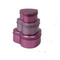 Herz-Form-Zinn-Kasten-Schokoladen-Zinn-Kasten