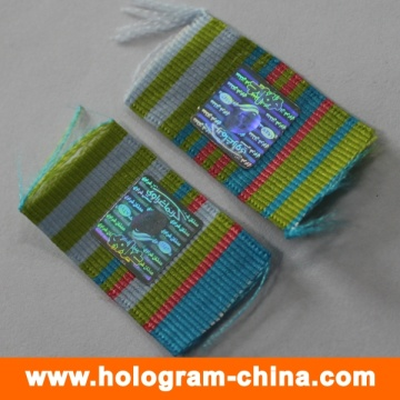 Laser Anti-Fake Hologram Sticker for Cloth