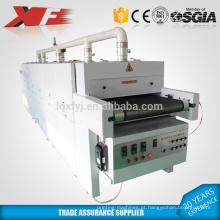 secador infravermelho pequeno do vácuo da correia transportadora para a venda / secador transportador da impressão da tela / secador do túnel