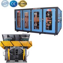 Foundry plant induction aluminum smelting furnace