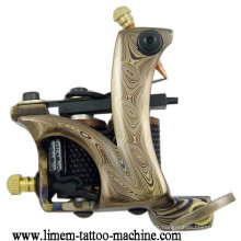 Machine de bobine de tatouage en acier de Damas