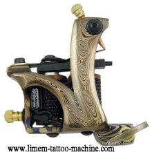 Máquina de bobina de tatuagem de aço de Damasco