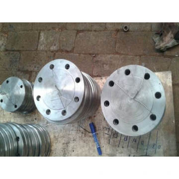 Flange de aço frente e verso ASME / ANSI B16.5 F301