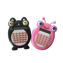8 Digits Cute Cartoon Animal Shaped Calculator with Shiny Eyes