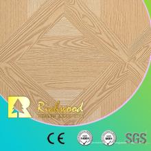 Haushalt 12,3 mm AC4 geprägt weiße Eiche Laminat Holzbodenbelag