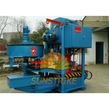 Máquina para fabricar telhas de concreto totalmente automática
