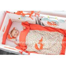 Fabrik Versorgung von Baby Bettwäsche Set (Kissen, Steppdecke, Schlafsack)