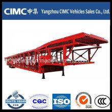 Cimc 2 Eixo 3 Axle Car Carrier Semi Trailer