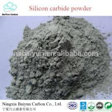 90% min de carbure de silicium prix de la poudre