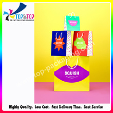 Creative Design Colorful Printing Shopping Gift Bag