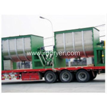 Industrial Horizontal Double Ribbon Blender Mixer Machine for Mixing Dry Powder