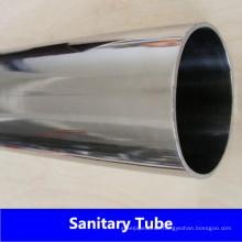 ASME Bpe 304 / 304L Sanitärschläuche aus rostfreiem Stahl für Milchprodukte