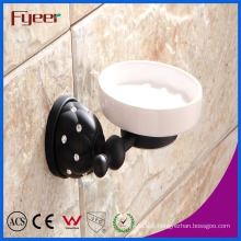 Fyeer Black Series Bathroom Accessory Brass Soap Dish