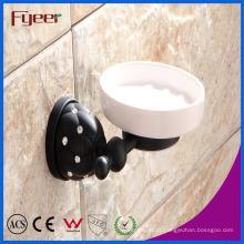 Fyeer Black Series Acessório de banheiro Saboneteira de latão