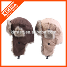 wool customized top camping outdoor cap and hat winter snow hat