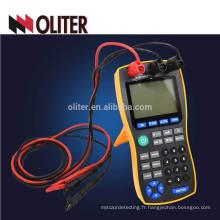 pt100 rtd et thermocouple sortie de température multifonction 4 calibrateur 20ma
