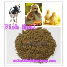 Harina de pescado aditiva alimentada con animales (proteína 60% min)