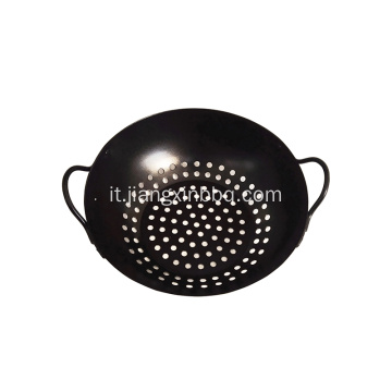 "Barbecue Grill Wok - 8 ""- Antiaderente"